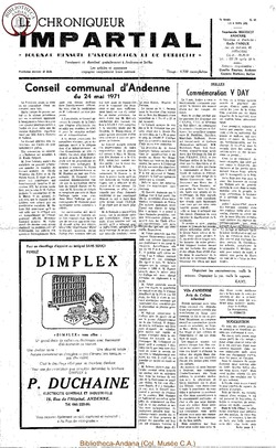 5e année - n63 - 9 juin 1971