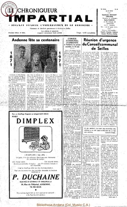5e année - n64 - 23 juin 1971