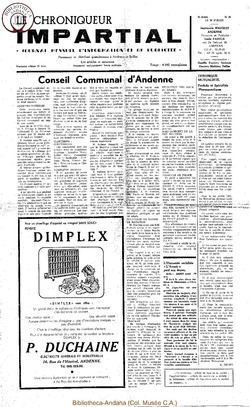 5e année - n65 - 14 juillet 1971