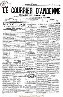 5e annee - n34 - 10 août 1928