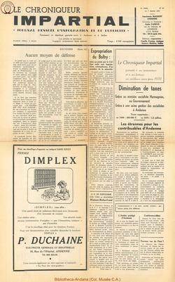 5e annee - n47 - 7 janvier  1970