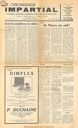 5e annee - n50 - 8 avril  1970
