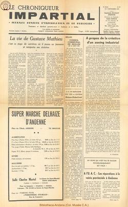 5e annee - n55 - 9 septembre  1970