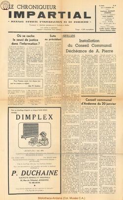 5e annee - n60 - 17 février 1971