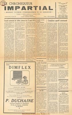 5e annee - n67 - 29 septembre 1971