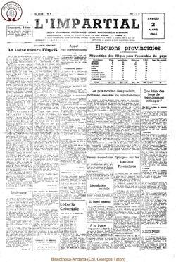 62e annee - n8 - 2 mars 1946