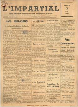 63e annee - n30 - 2 aout 1947
