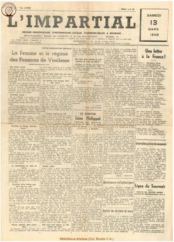 64e annee - n11 - 13 mars 1948