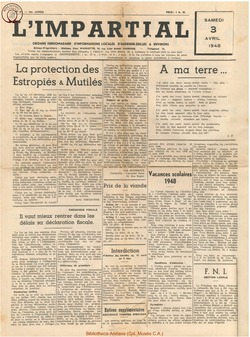64e annee - n14 - 3 avril 1948