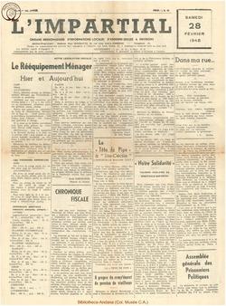 64e annee - n9 - 28 février 1948