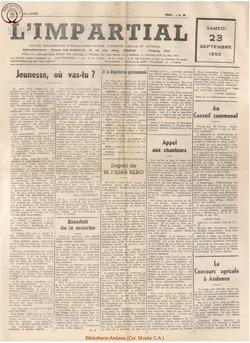 66e annee - n36 - 23 septembre 1950