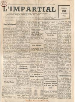 66e annee - n4 - 28 janvier 1950