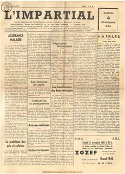 66e annee - n42 - 4 novembre 1950