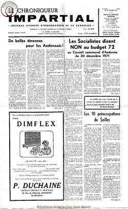 6e année - n71 - 26 janvier 1972
