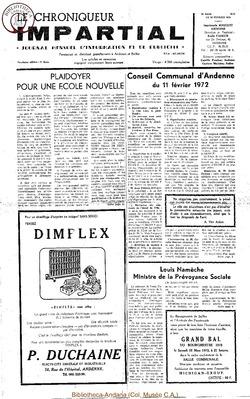 6e année - n72 - 23 février 1972