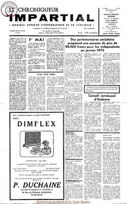 6e année - n74 - 26 avril 1972