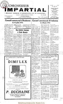 6e année - n77 - 9 août 1972