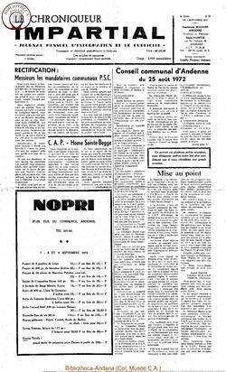 6e année - n78 - 6 septembre 1972