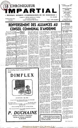 6e année - n80 - 8 novembre 1972