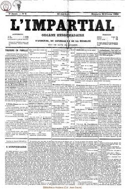 6e annee - n8 - 22 fevrier 1891
