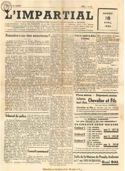 70e annee - n16 - 18 avril 1953
