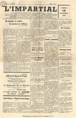71e annee - n50 - 18 decembre 1954