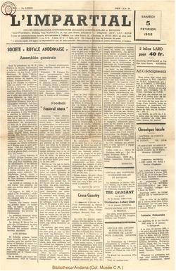 72e annee - n6 - 5 février 1955