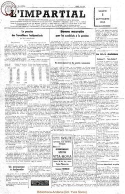 73e annee - n34 - 1 septembre 1956