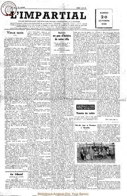 73e annee - n41 - 20 octobre 1956