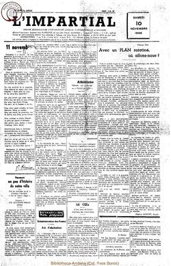 73e annee - n44 - 10 novembre 1956