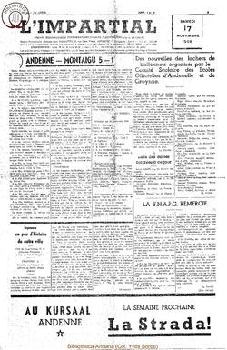 73e annee - n44 - 17 novembre 1956