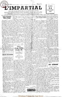 73e annee - n45 - 24 novembre 1956