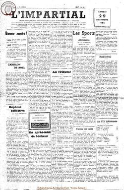 73e annee - n50 - 29 decembre 1956