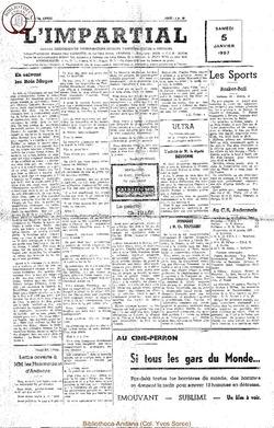 74e annee - n1 - 5 janvier 1957