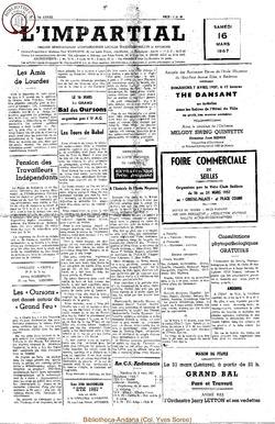 74e annee - n11 - 16 mars 1957