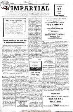 74e annee - n12 - 23 mars 1957