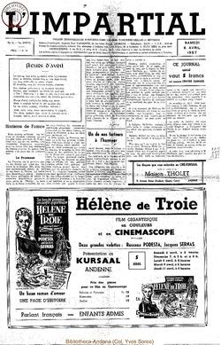 74e annee - n14 - 6 avril 1957
