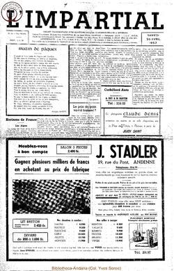 74e annee - n16 - 20 avril 1957
