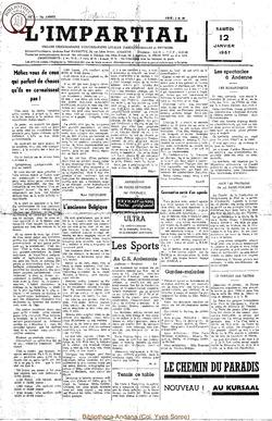 74e annee - n2 - 12 janvier 1957
