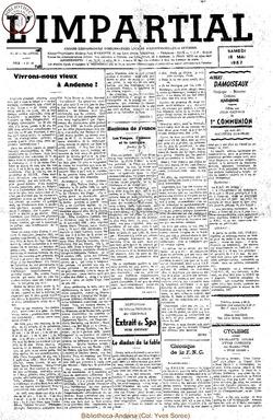 74e annee - n20 - 18 mai 1957