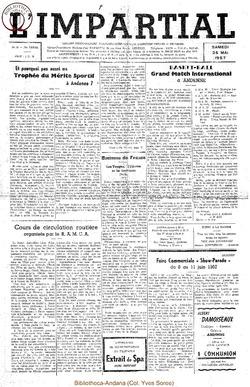 74e annee - n21 - 25 mai 1957