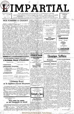74e annee - n22 - 1 juin 1957