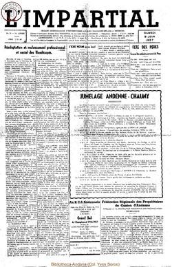 74e annee - n23 - 8 juin 1957