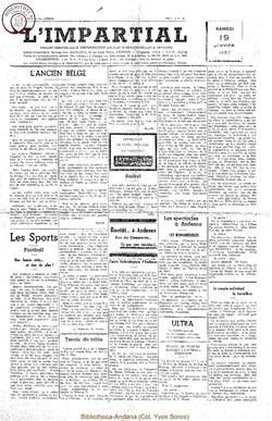 74e annee - n3 - 19 janvier 1957