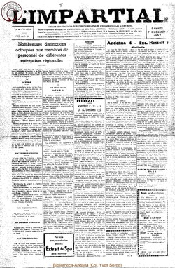 74e annee - n48 - 7 decembre 1957