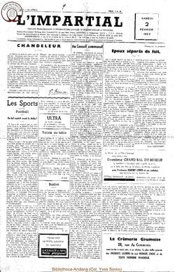 74e annee - n5 - 2 février 1957