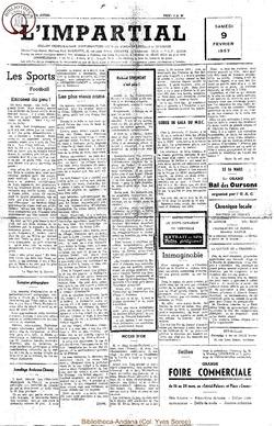 74e annee - n6 - 9 février 1957