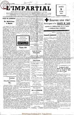 74e annee - n9 - 2 mars 1957