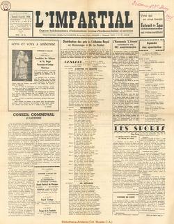 75e annee - n26 - 5 juillet 1958