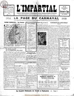 75e annee - n9 - 8 mars 1958